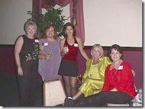 JoAnn,Belinda,Vivian,Judie,Ann